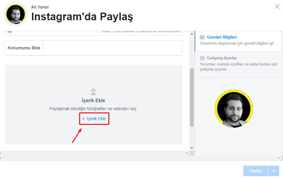 Facebook Creator Studio Paylaşım Planlama