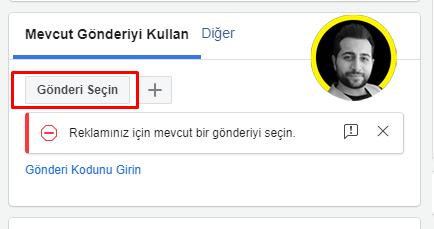 Facebook Reklam Yöneticisi Aracı