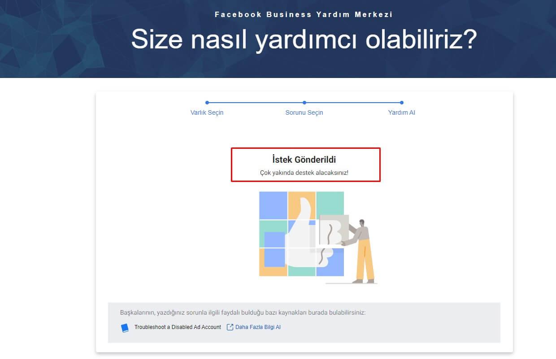 Kapatılan Facebook Reklam Hesabı Sorunları